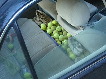 Tennisballs